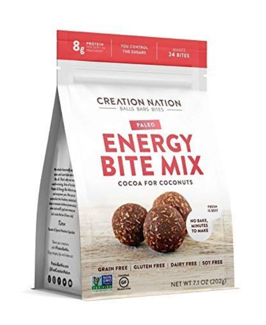 ENERGY BITE MIX BY CREATION NATION | NO-BAKE, MINUTES TO MAKE | DIY ENERGY BALLS & BITES |...
