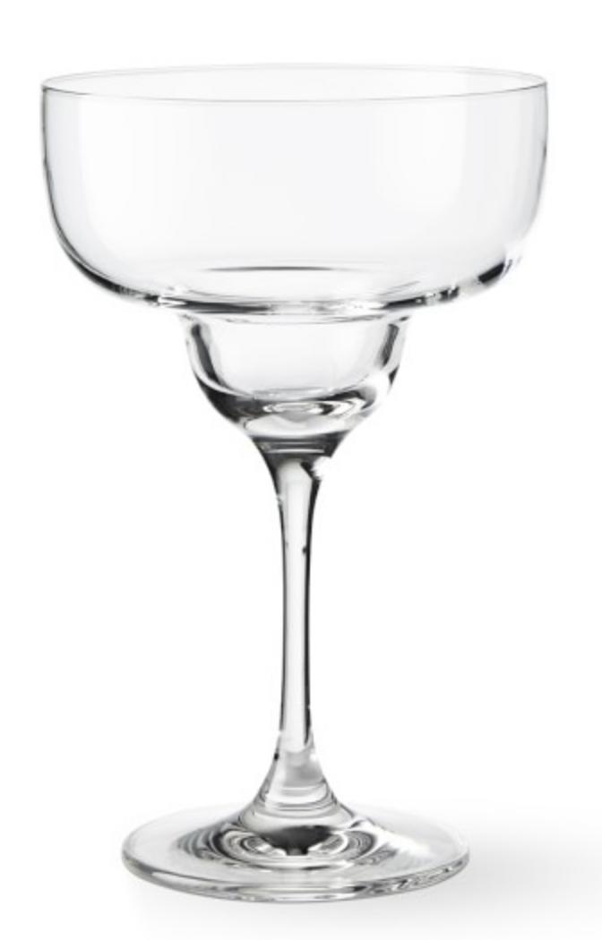 WILLIAMS SONOMA ENCORE MARGARITA GLASSES
