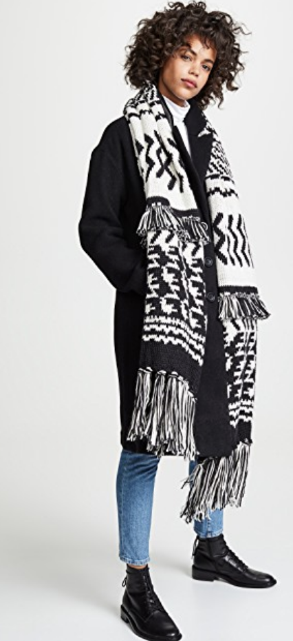 MILE HIGH FRINGE SCARF