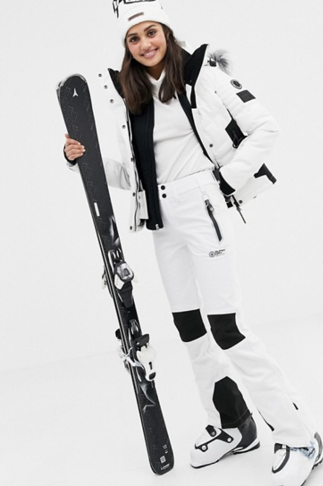 SUPERDRY SNOW SKI PANT IN MONOCHROME