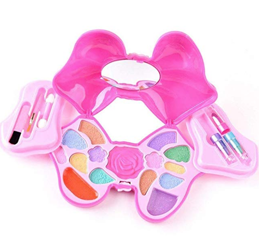 HERE SHINE MAKEUP FOR LITTLE GIRLS - GIRLS REAL MAKEUP KIT COSMETIC SET BEST GIFT SET FOR LITTLE ...