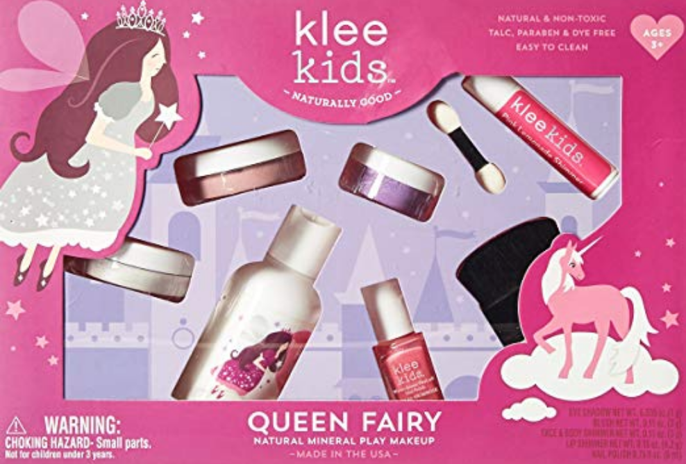 AMAZON.COM : LUNA STAR NATURALS KLEE KIDS NATURAL MINERAL MAKEUP 6 PIECE KIT, QUEEN FAIRY : BEAUTY