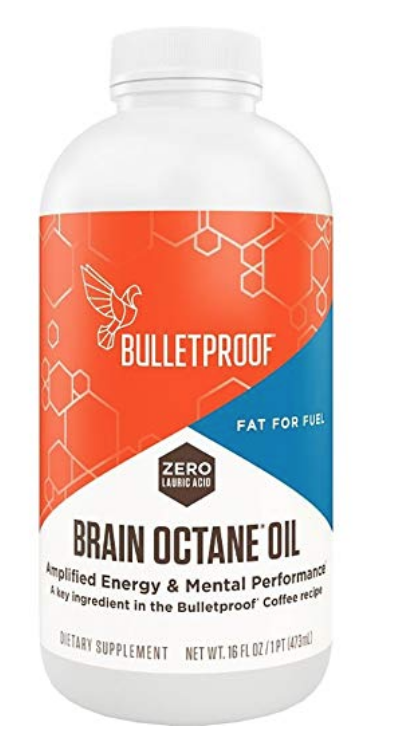 BULLETPROOF BRAIN OCTANE OIL, RELIABLE AND QUICK SOURCE OF ENERGY, KETOGENIC DIET, MORE THAN JUST...