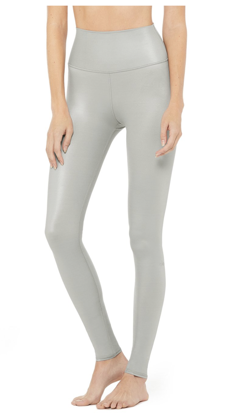 HIGH-WAIST SHINE LEGGING