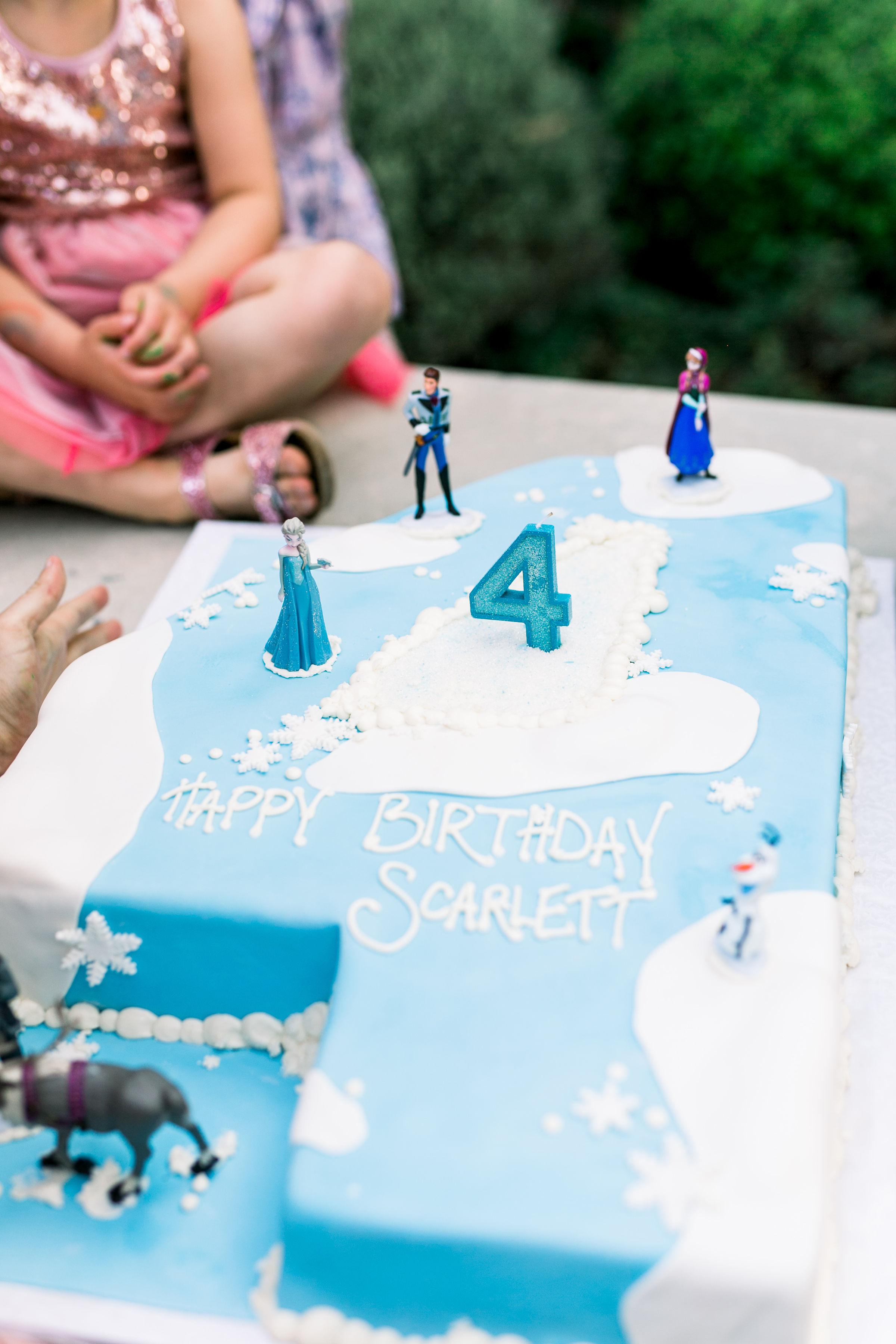 Scarlett's Magical Fourth Birthday Party Photography: Smith House Photography