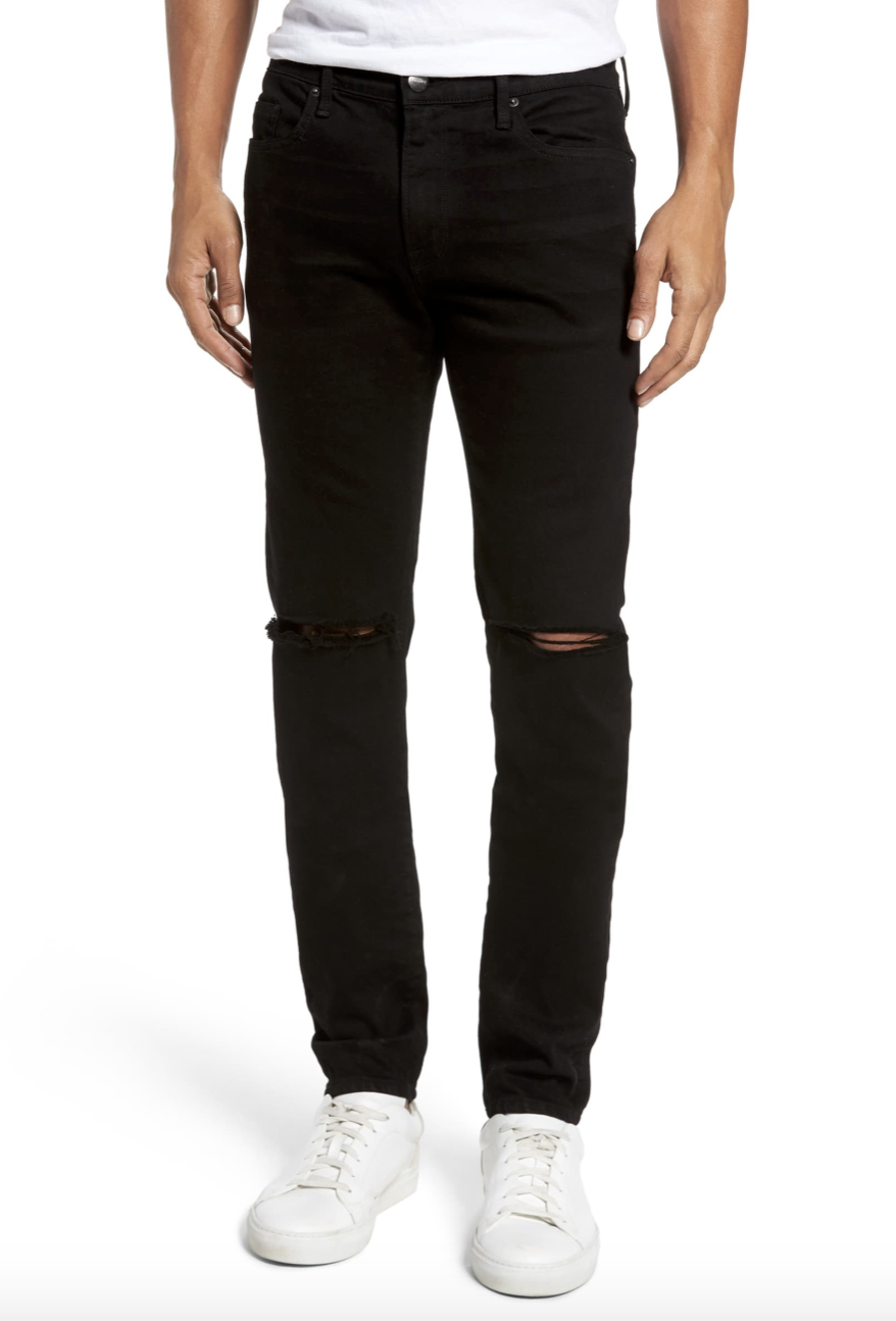 L'HOMME SKINNY JEANS