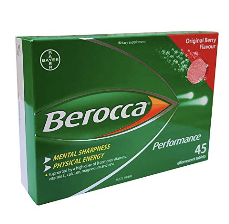 BEROCCA PERFORMANCE ORIGINAL 45 EFFERVESCENT TABLETS