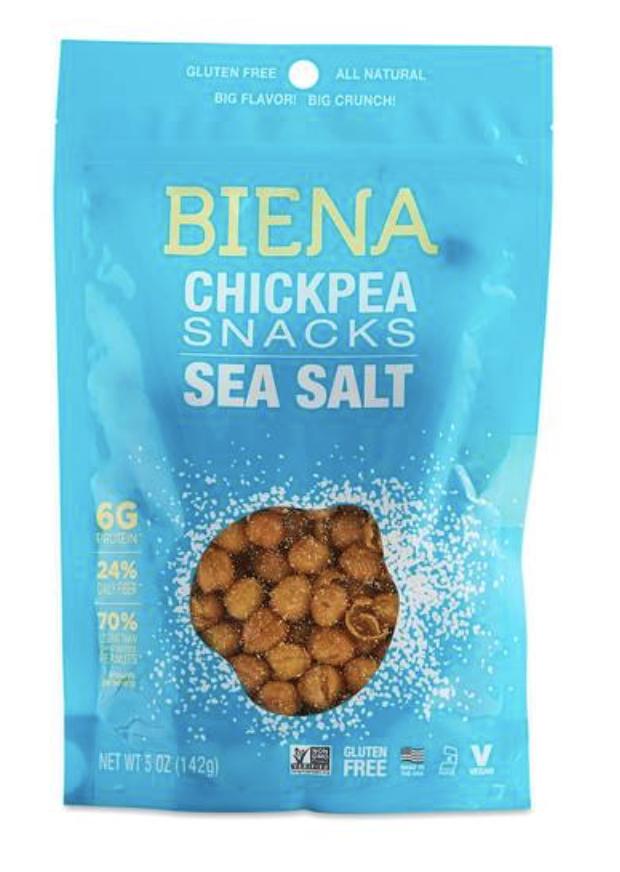 SEA SALT CHICKPEA SNACKS