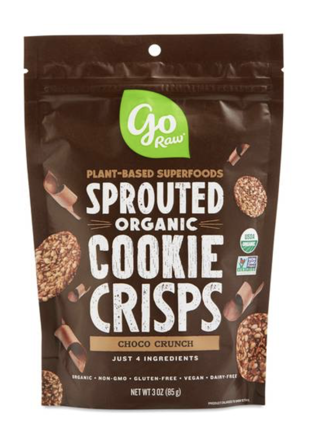 CHOCO CRUNCH SPROUTED COOKIES