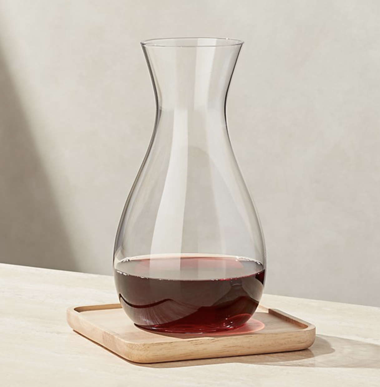Merge 50-Ounce Wine Carafe with Coaster