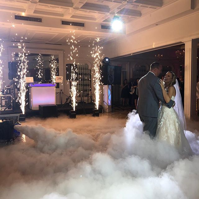 We love to capture that special moment! #djmcent #djmcmoments #sparklers #njweddings #dancefloor #weddingday #repost @westmountcountryclub @johnrocklight