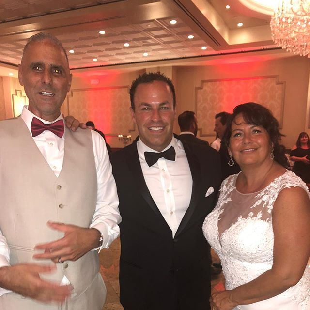 What a great evening celebrating with Joe and Natalie on their Wedding! #djmcent #djmcmoments #weddingday #njweddings #dancefloor #weddingday @hanovermanor