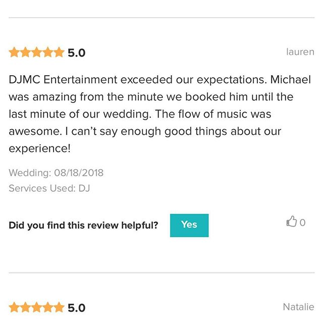 I can't thank our clients and staff that works with us! We strive to produce the best for our clients. Thank you for having DJMC Entertainment!! #djmcent @naninasinthepark_ @anthony_bocchino @john_frangione
