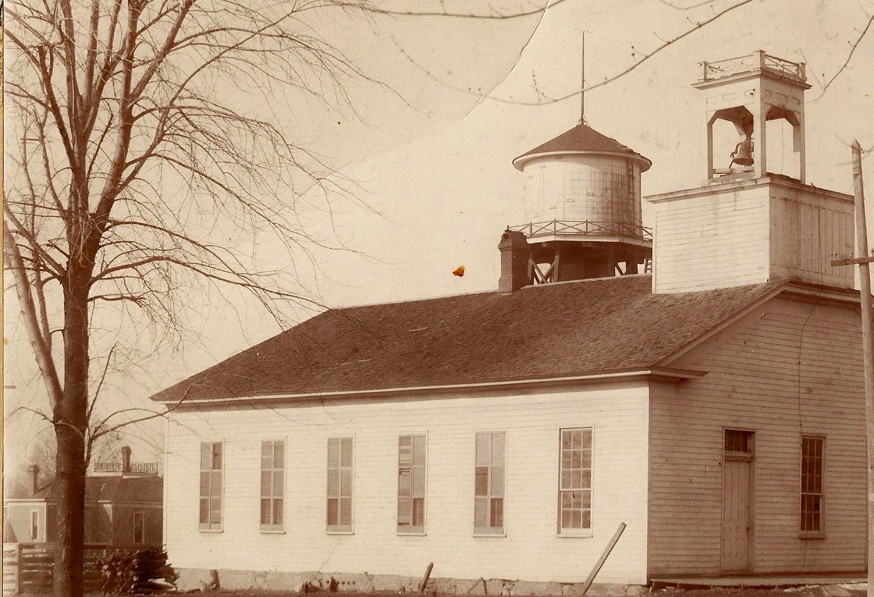 Second church building, built 1853.