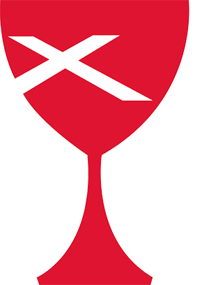The Chalice is the symbol of the Disciples of Christ denomination, of which FCC is affiliated.