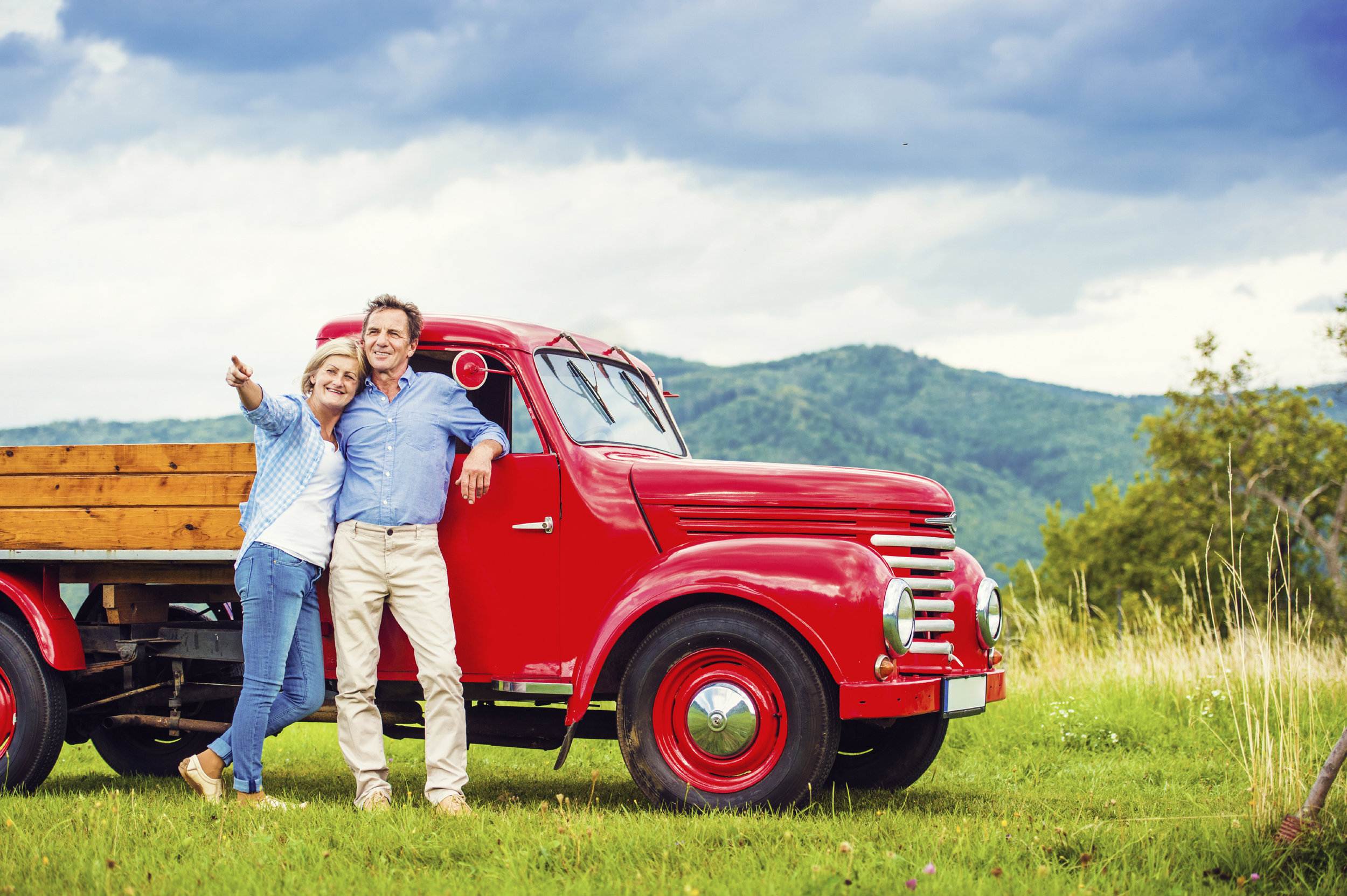 Senior Couple Red Truck.jpg