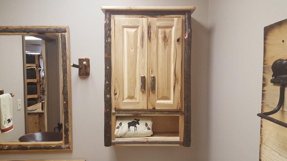 Hickory Medicine Cabinet Ez Mountain Rustic Furniture
