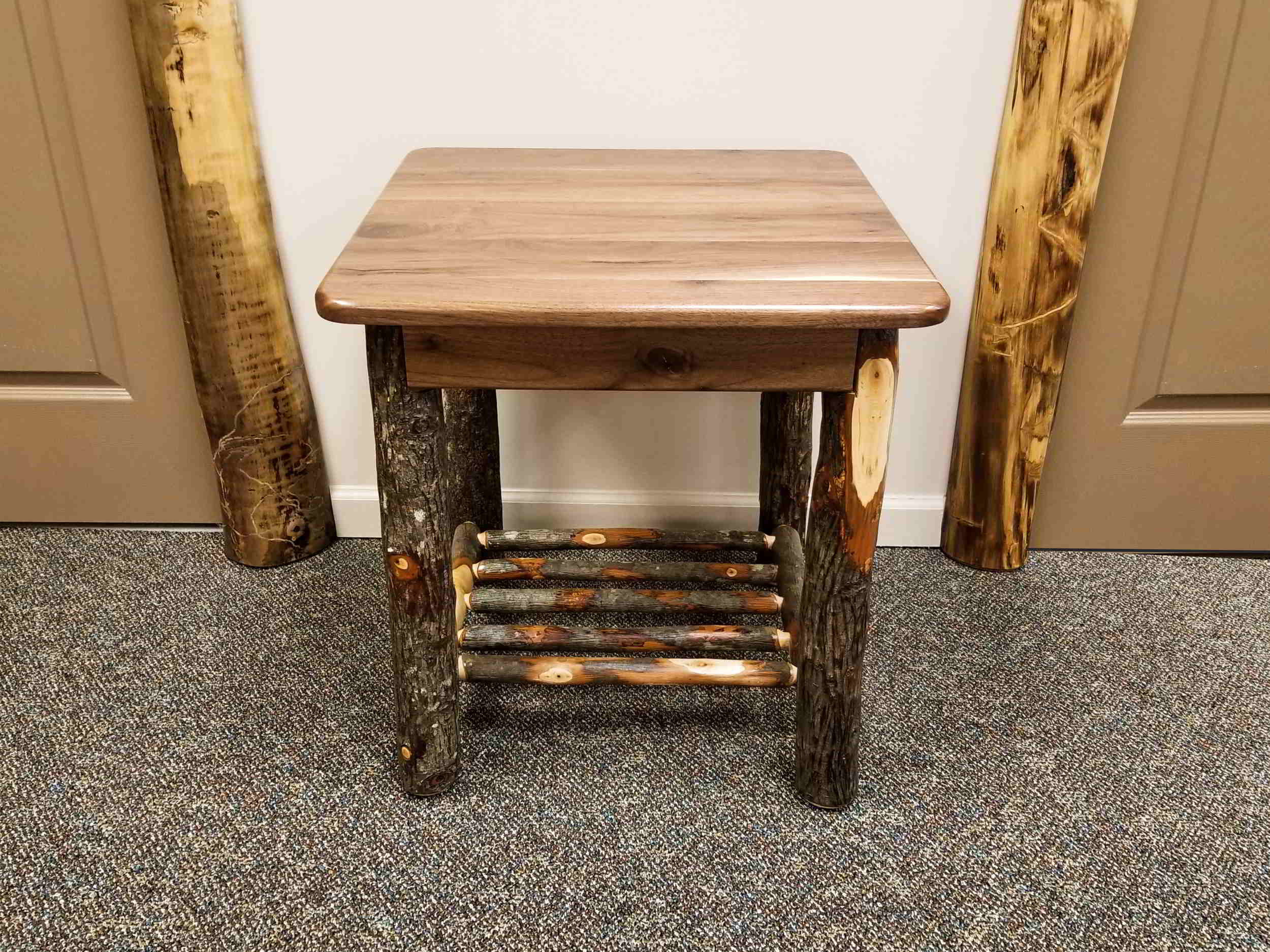 Black Walnut 22 X End Table Ez Mountain Rustic Furniture
