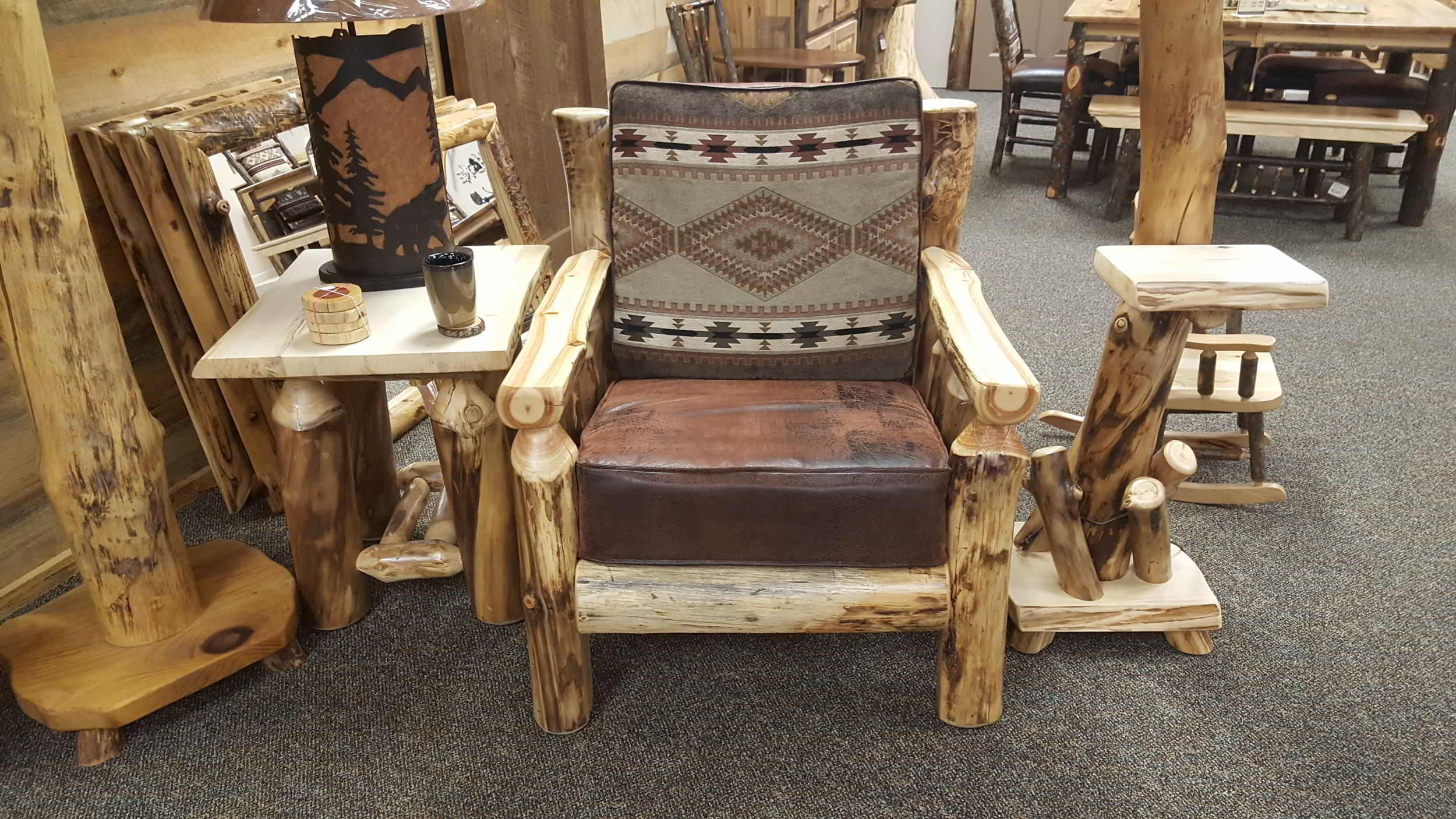 Rustic Log Living Room Furniture Ez Mountain Rustic Furniture