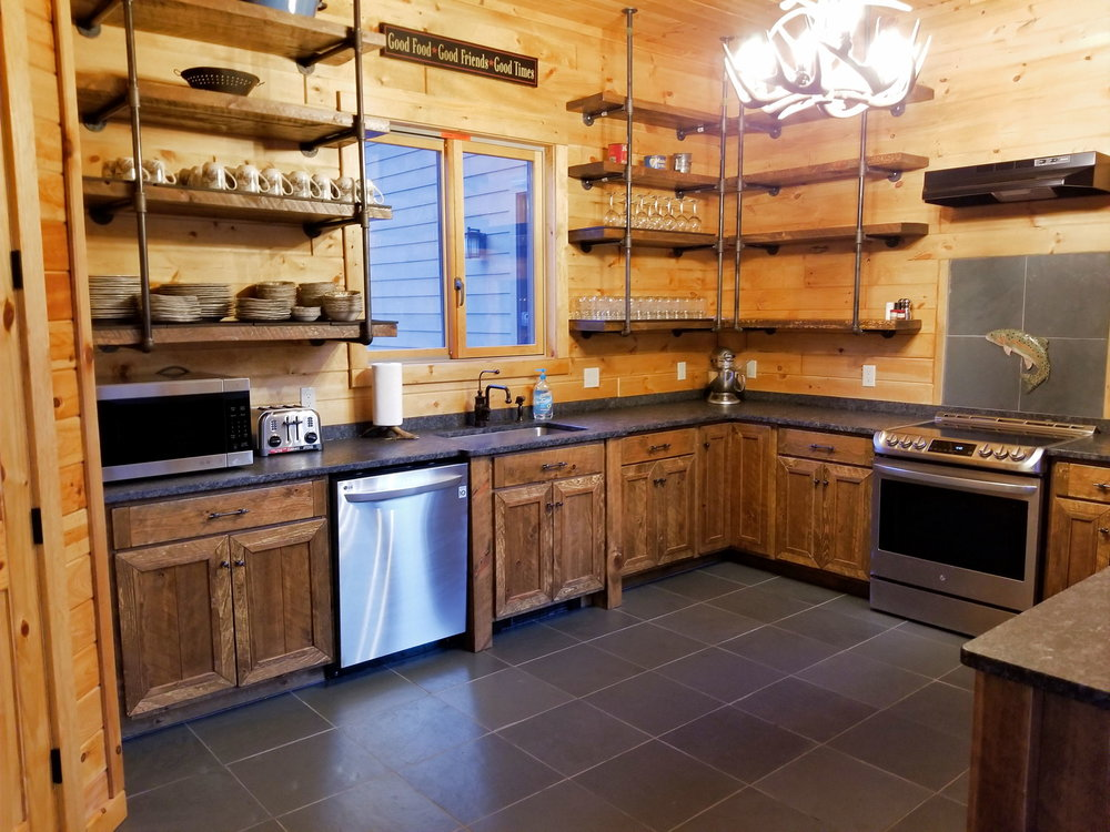 Rough Cut Pine Cabinets Ez Mountain Rustic Furniture