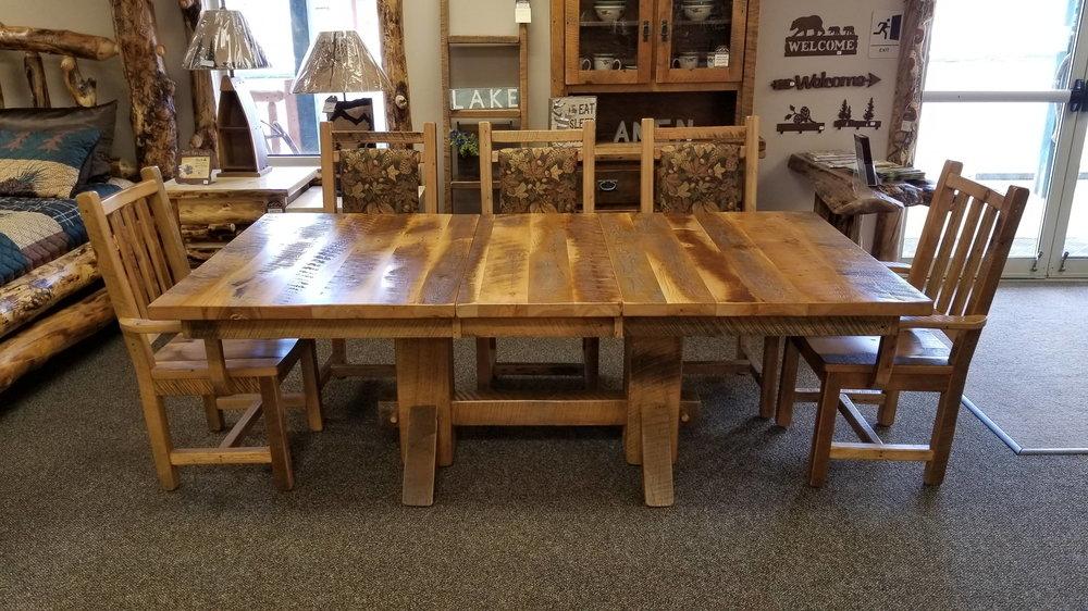 Barnwood Table Ez Mountain Rustic Furniture