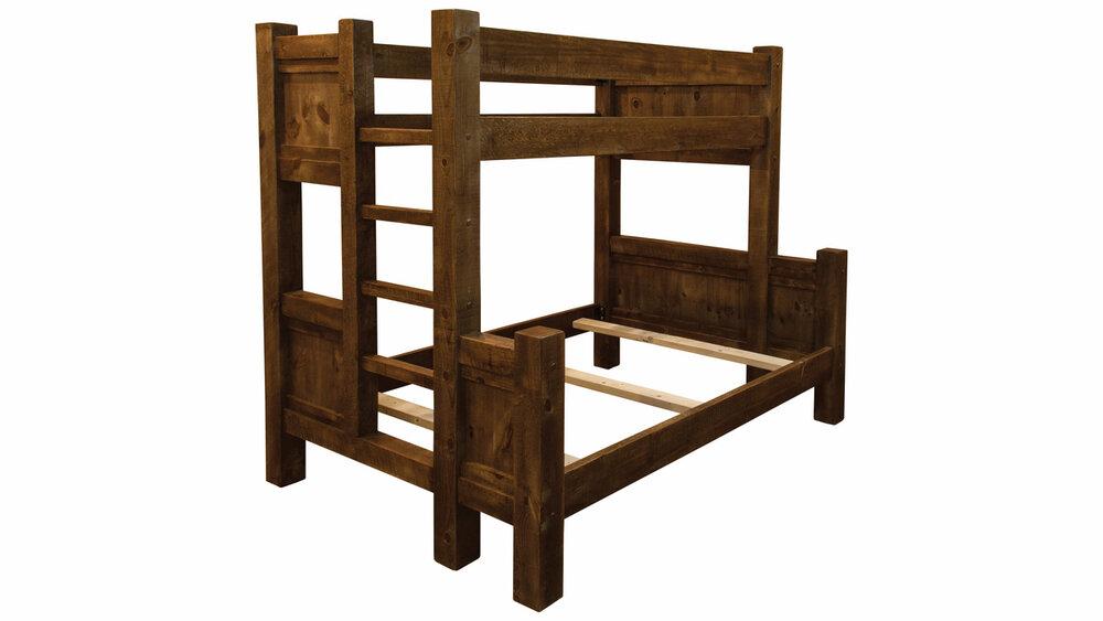 Timber Frame Bunk Bed Ez Mountain Rustic Furniture