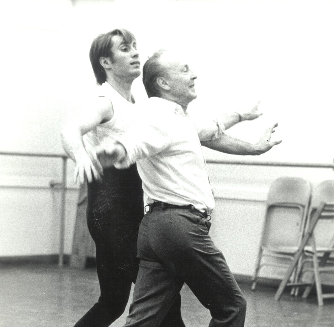 Jean-Pierre and George Balanchine