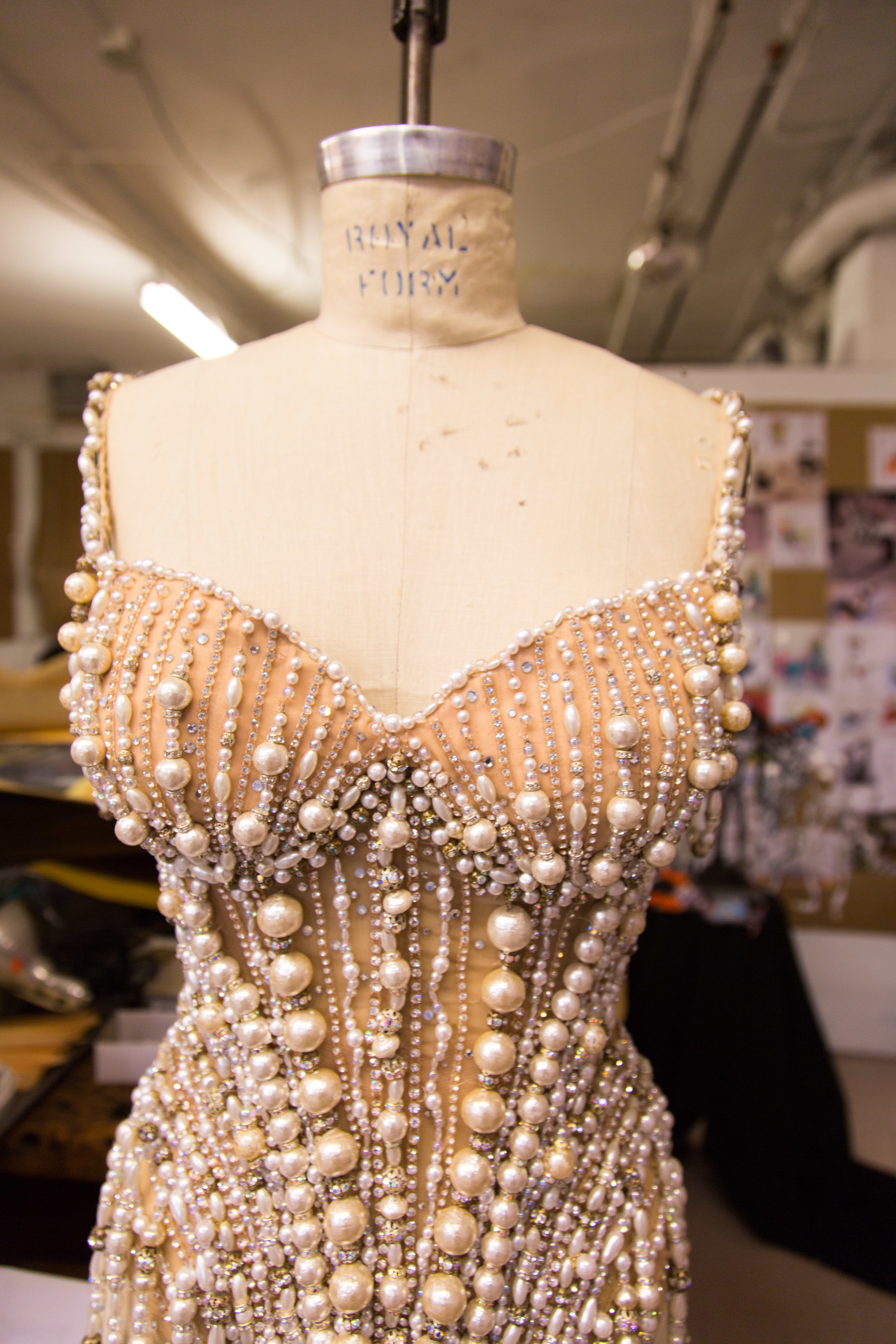 """ONE OF THE COSTUMES LONG DESIGNED FOR """"THE PRODUCERS.'"""" HE WON A 2001 TONY AWARD FOR HIS WORK ON THE SHOW"""