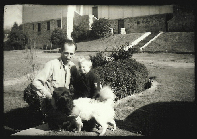 WILLIAM IVEY LONG PICTURED WITH HIS FATHER WILLIAM IVEY LONG SR.