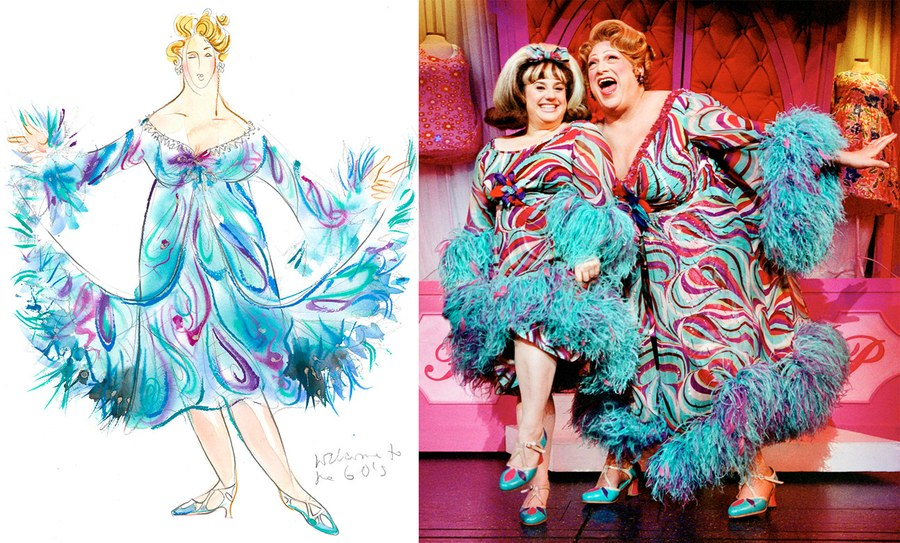 LONG DESIGNED THE COSTUMES FOR HAIRSPRAY. PHOTO COURTESY WILLIAM IVEY LONG STUDIOS