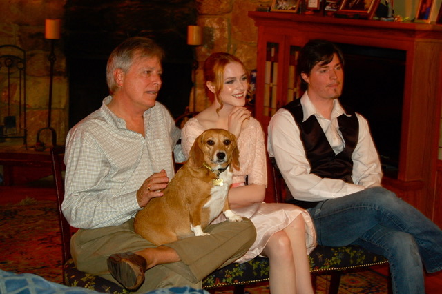ira david wood Iii pictured with his daughter evan rachel wood and son ira david wood IV