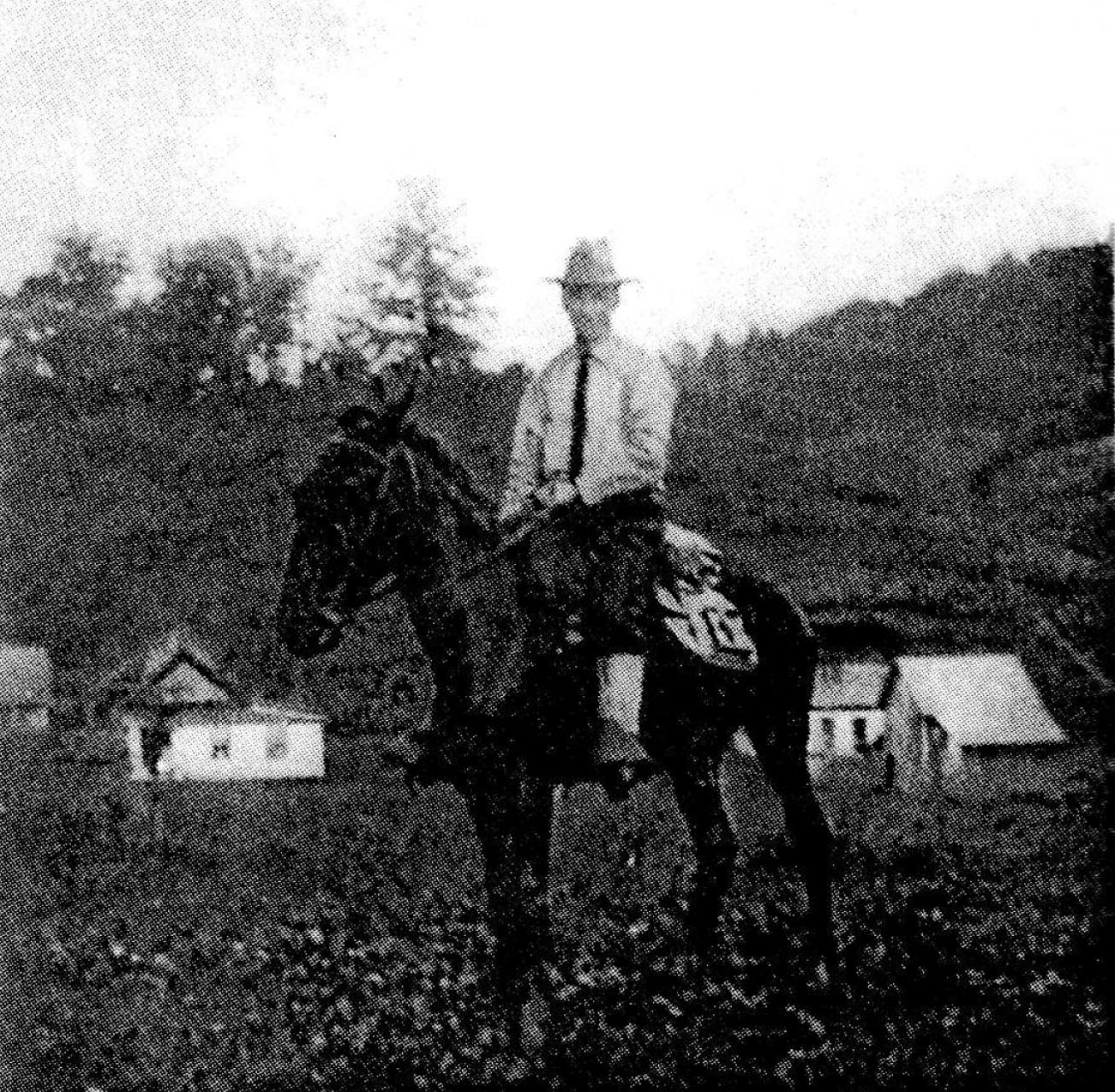 The photograph of John C. Campbell that inspired Billy Edd Wheeler to write Reverend Mr. Black.