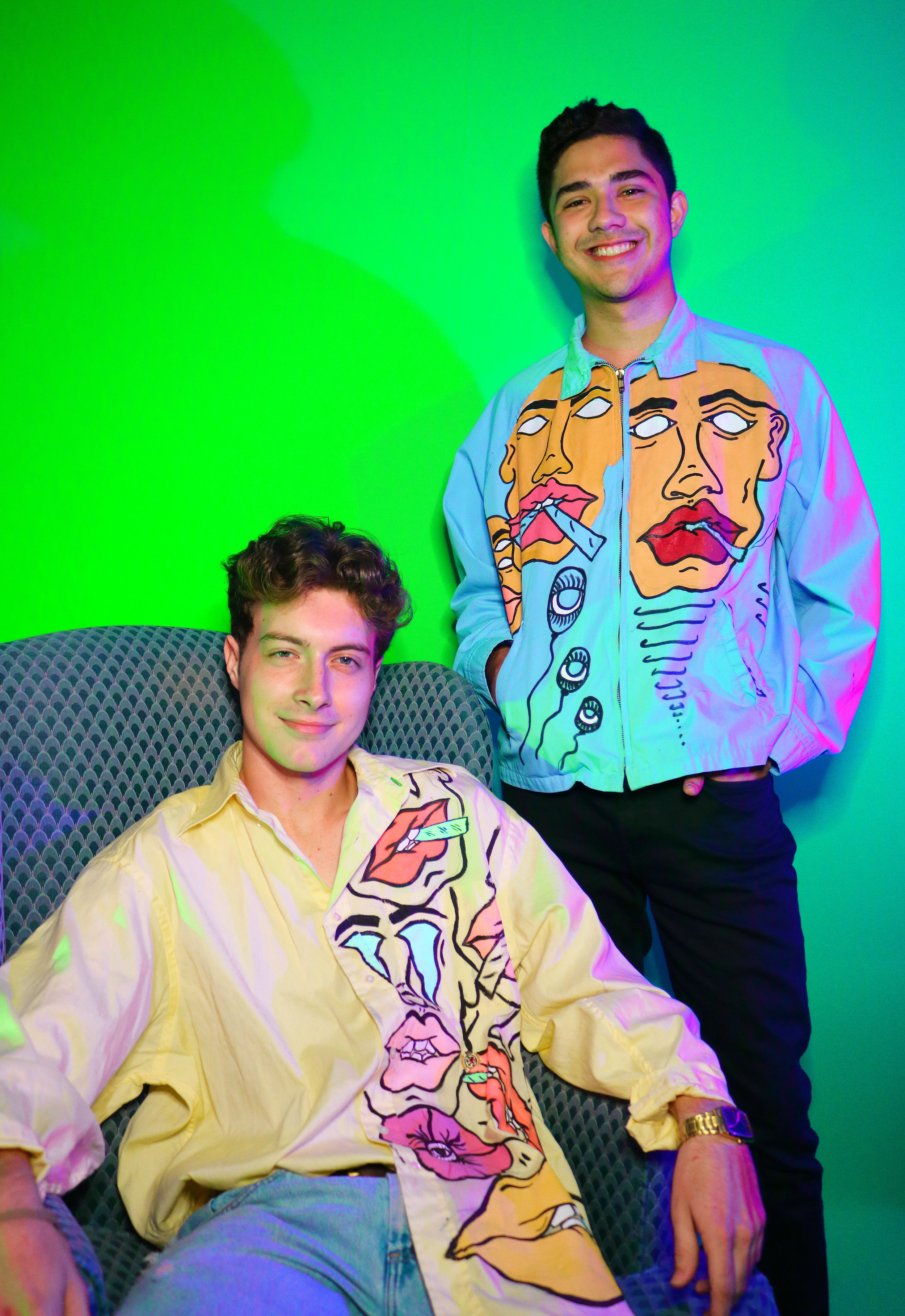 Rob Deutschman and Carlos Sanchez styled by Julia R. and photographed by me.