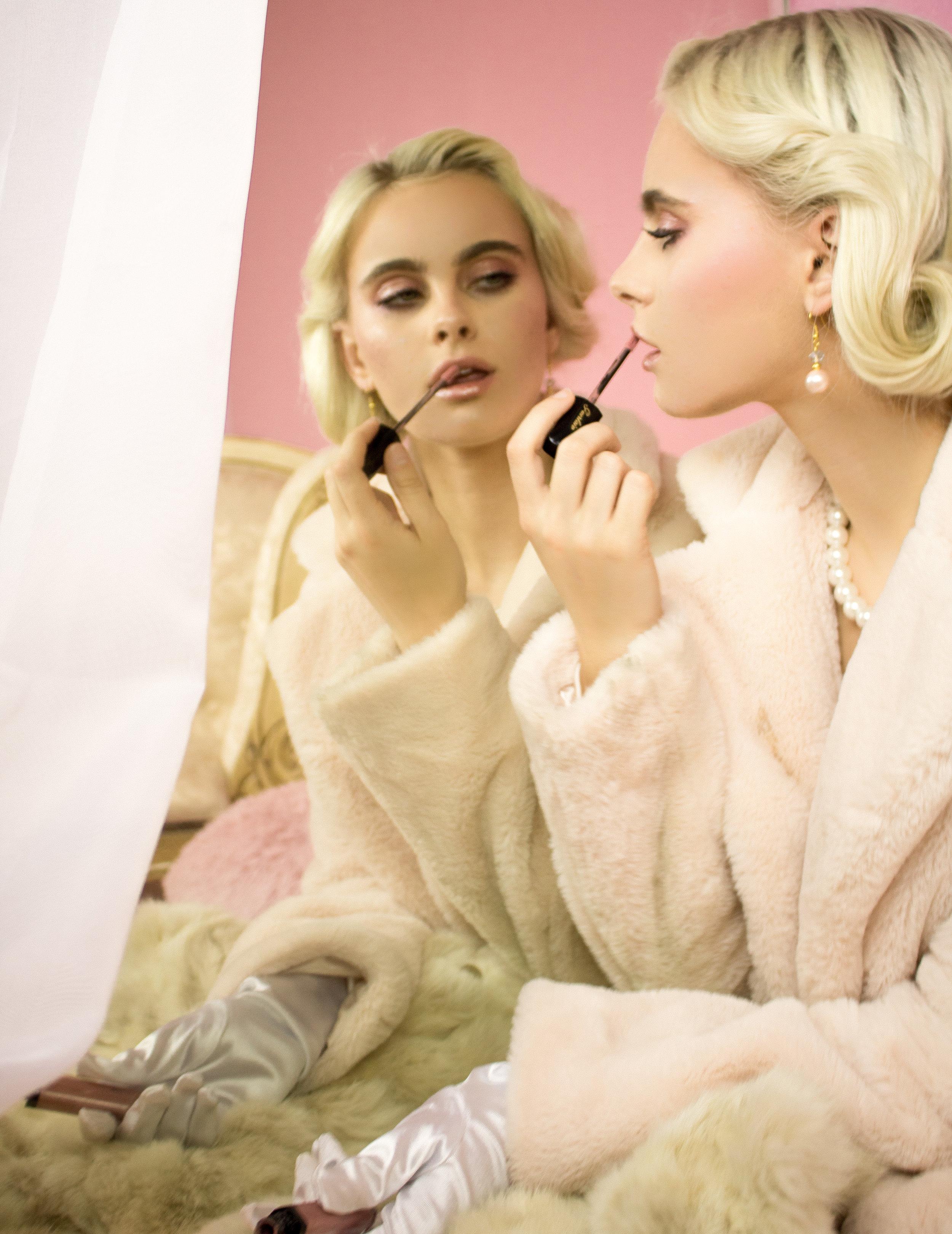 Bri Kumelski  makeup by Adele Garcia  styled by myself