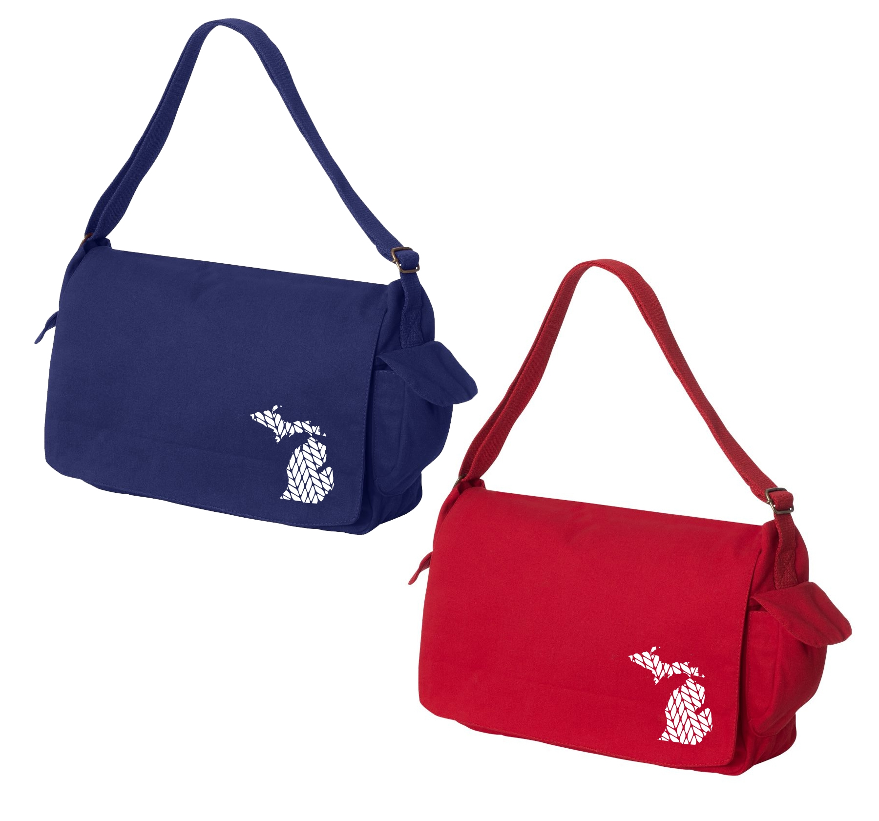Michigan Messenger Bag, Explore Michigan, Pure Michigan, Love Michigan, Mitten Love, Home in the Mitten