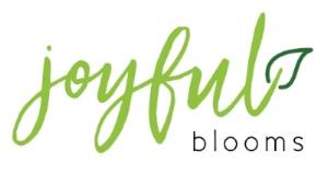 Joyful Blooms Logo - Green - White SQ.jpg