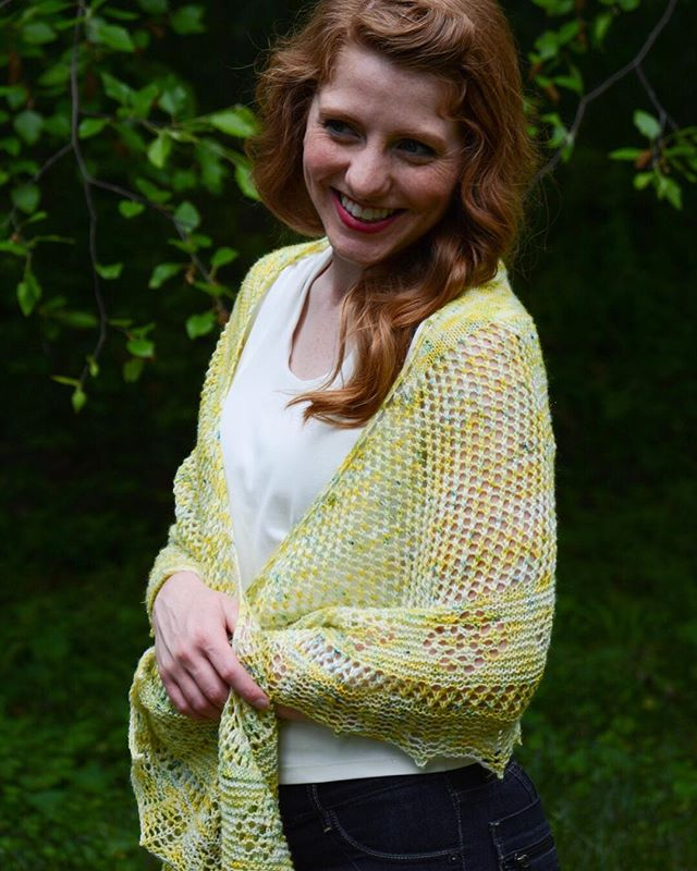 So I've totally been enjoying my baby and haven't done to much posting on Instagram this month. Buuut....I will be releasing this pattern on Thursday! . This shawl is perfect for hot summer nights and looks great with a dress or with blue jeans! . The Lemon Verbena shawl is part of my Herbed: The Seasonings Of Life collection. The collection celebrates life, cooking, and is inspired by some of my favorite herbs. . Yarn is from @theyarnathomemom . #herbedtheseasoningsoflife #naomigraceknits #naomigracedesigns #shawlknitting #laceknitting #knittersgonnaknit #knittersofinstagram #cantstopknitting