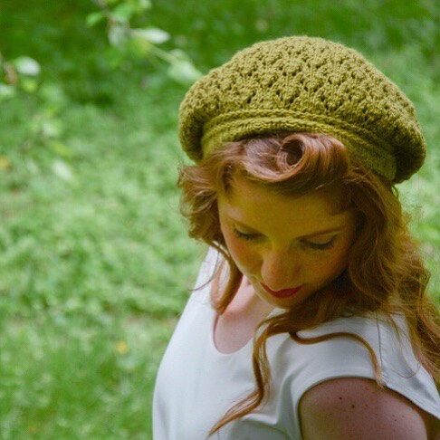 Live on Ravelry! Quick knit. Lacey tam perfect for fall. 🍁 Looks great with blue jeans! ☺️ . Pattern is Dilly Dill Tam and is part of the Herbed:The Seasonings Of Life ebook. Pattern is $3.95 Yarn is @owool and uses just one skein! Details on the Ravelry page. . #knittedhats #tam #knittersgonnaknit #knittingaddict #knittingpattern #naomigracedesigns
