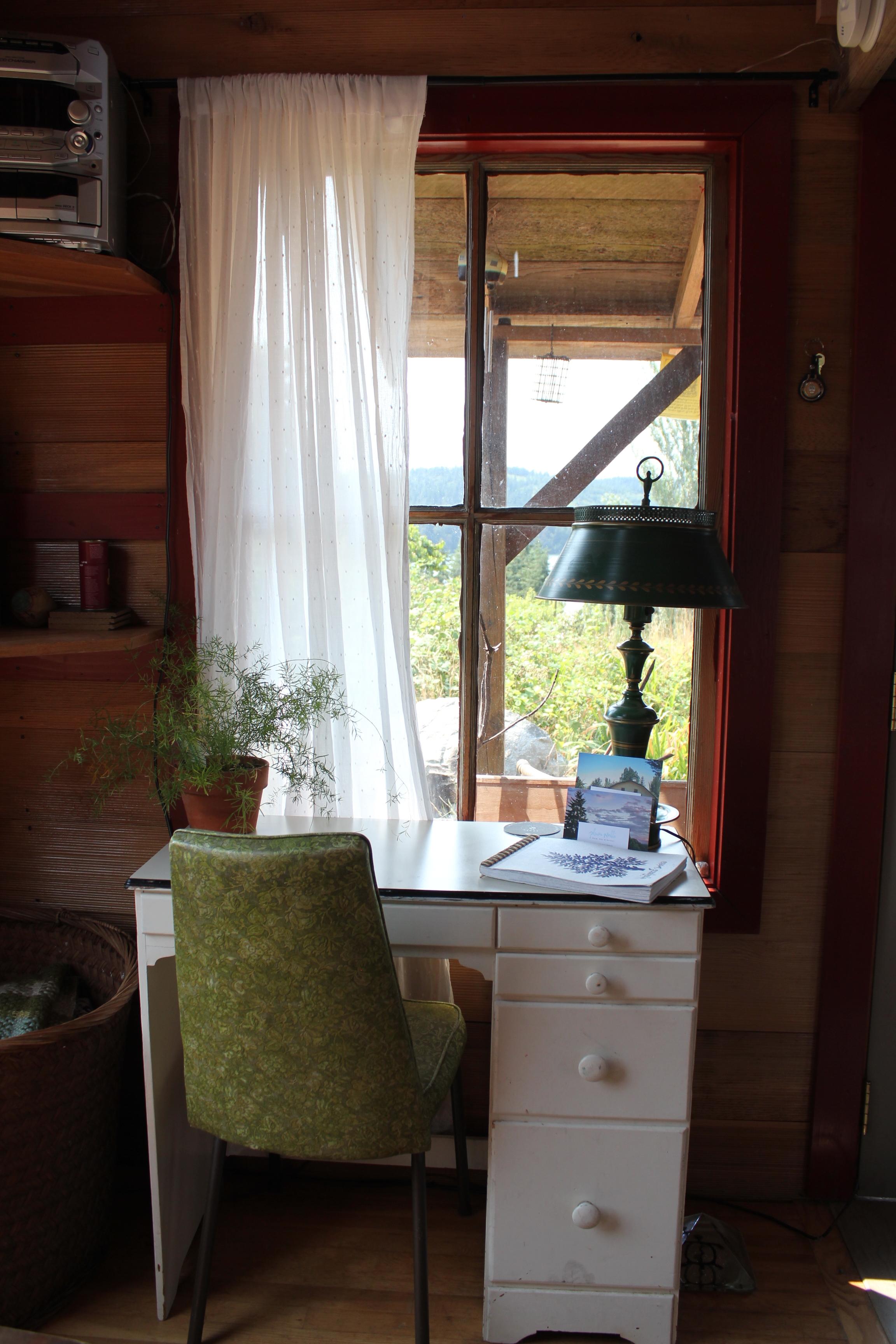 rustic cabin work desk decor plum nelli.JPG