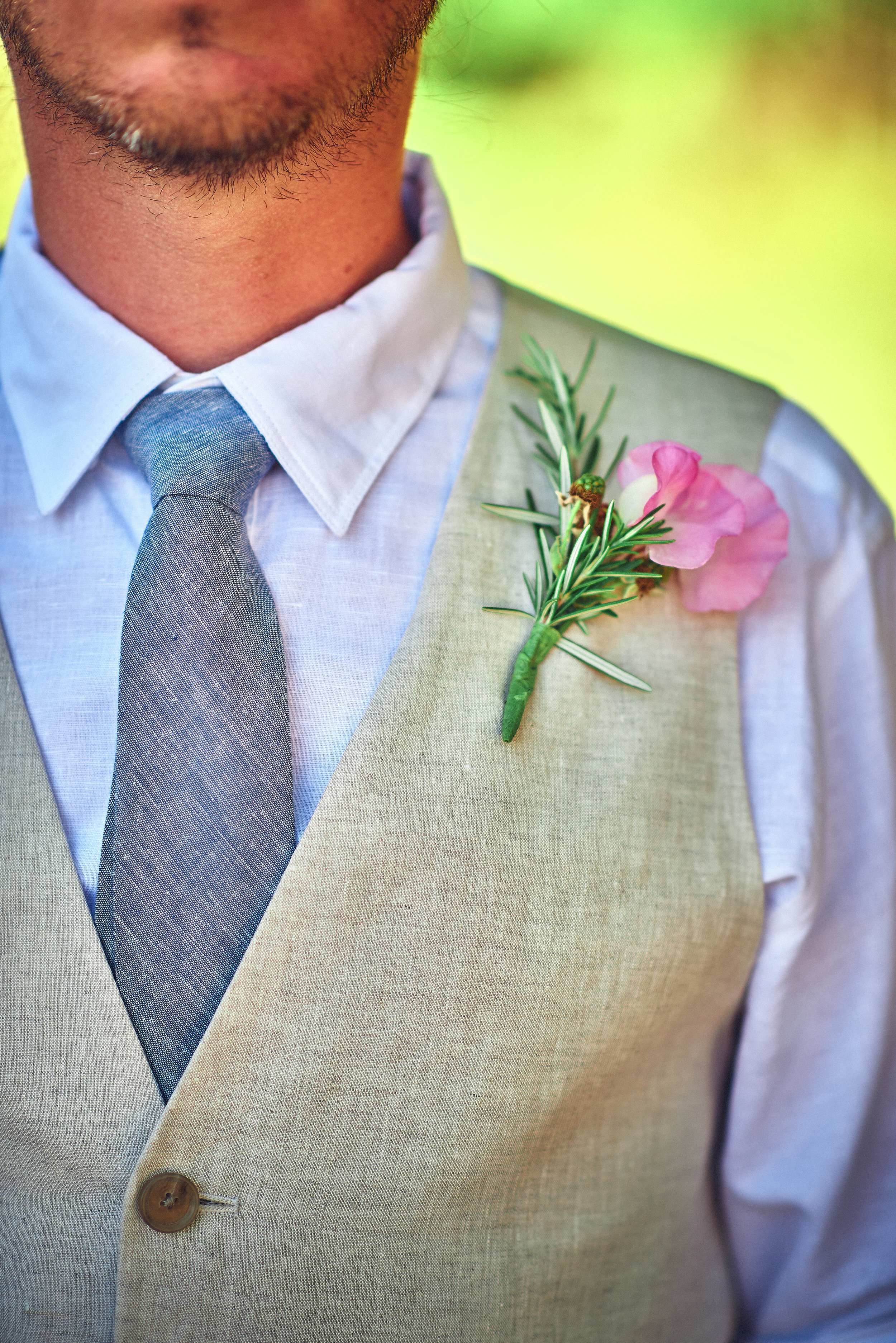 pea and rosemary at groom details at plum nelli farm wedding.jpg
