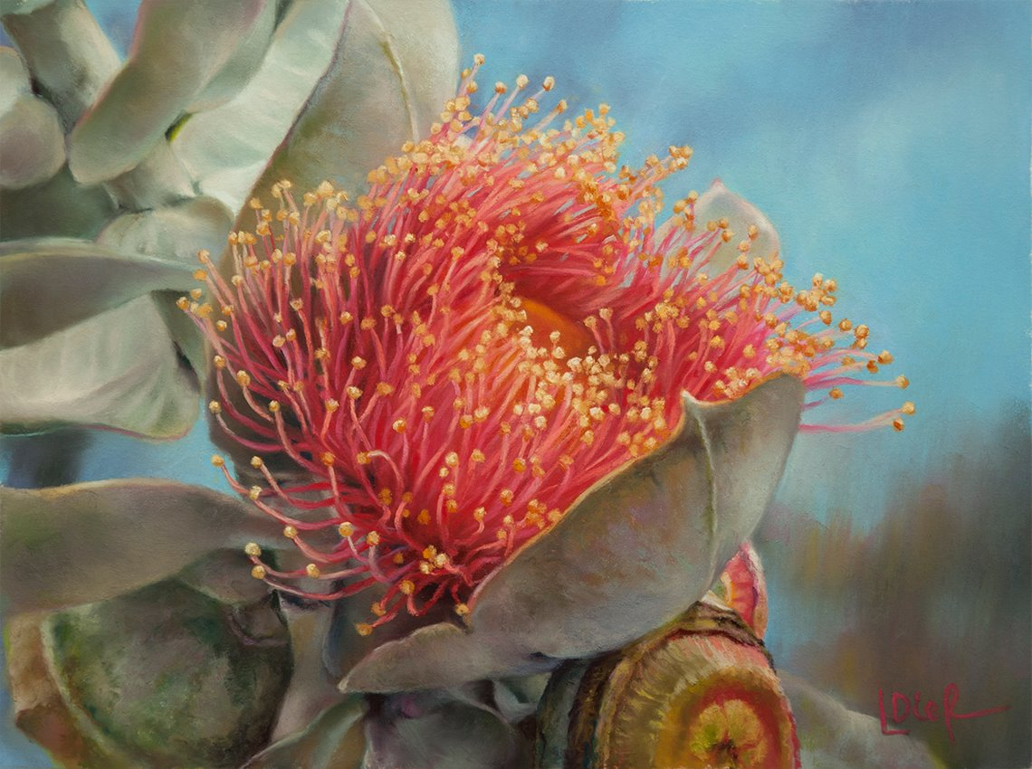 Botanical Painting by Lyn Diefenbach.