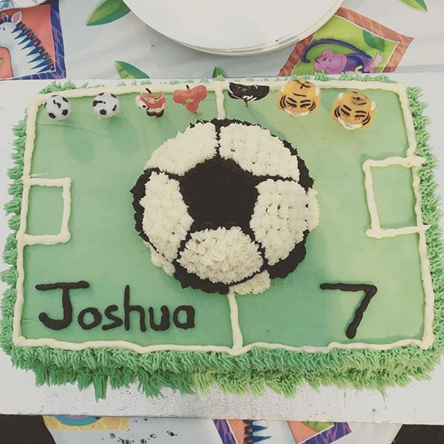 🎉 We're delighted that Joshua enjoyed his birthday recently with ESP! #birthday #football #party