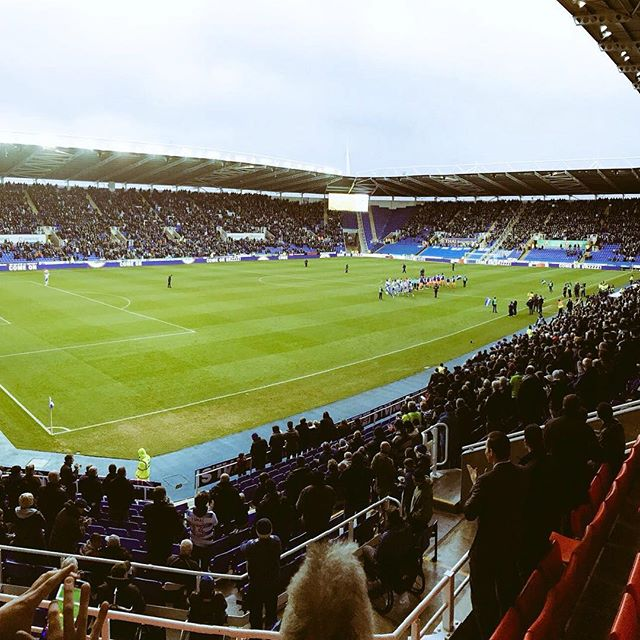 ⚽️ We're enjoying an afternoon as matchday guests at the Madejski Stadium for Reading vs Sheffield Wednesday!