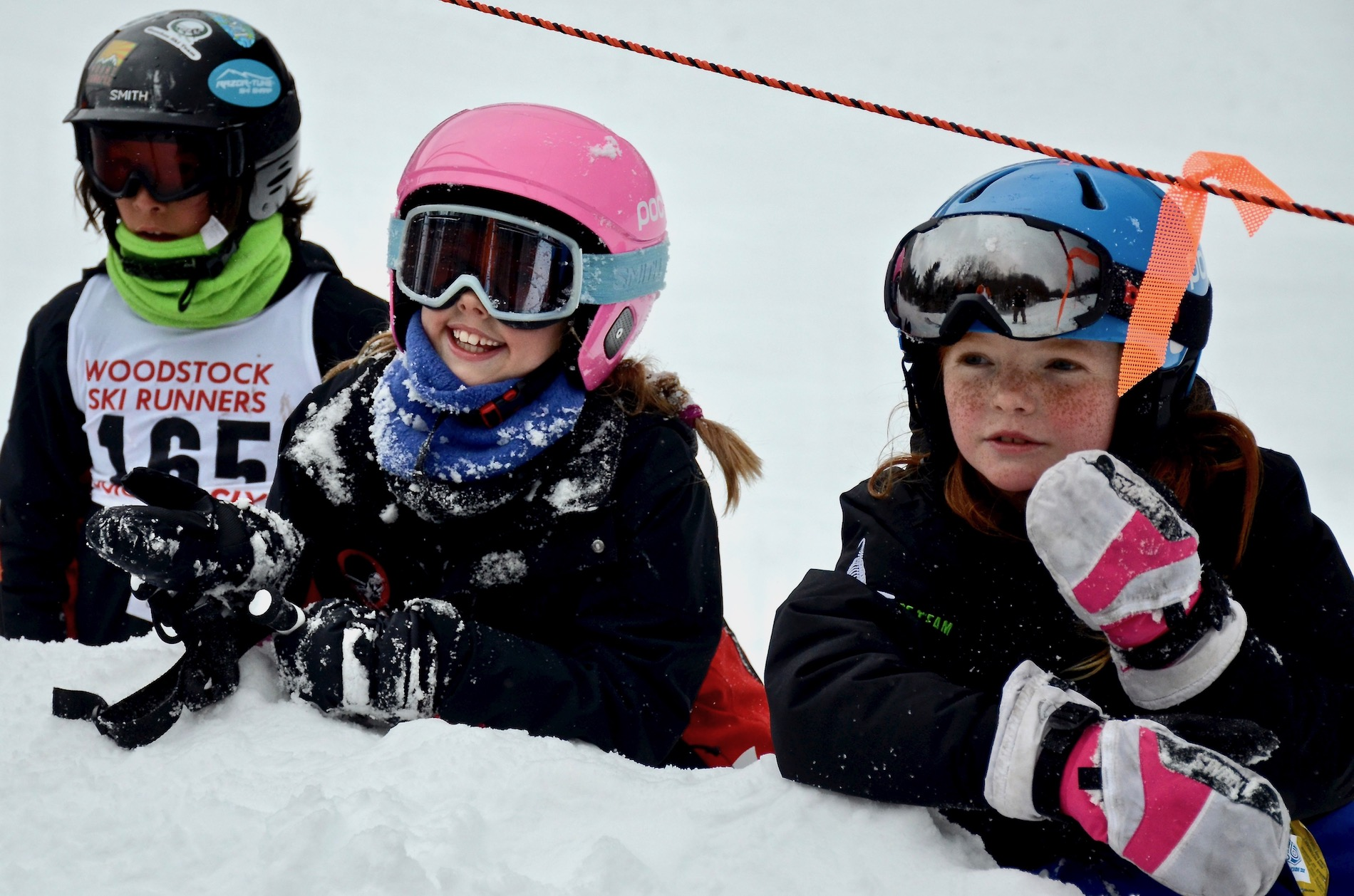 All the kids had a blast watching the terrain park portion of the day.