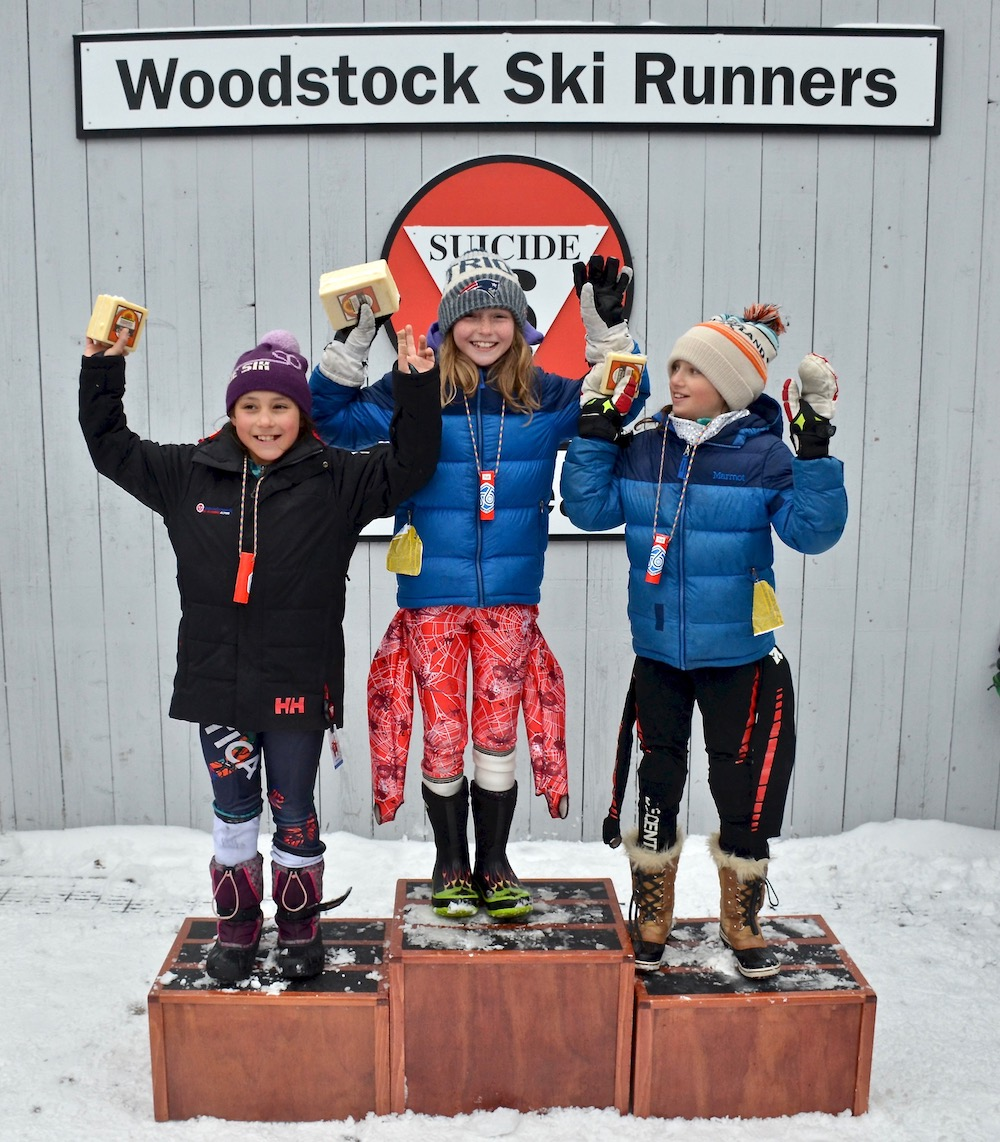 U10 Girls Podium