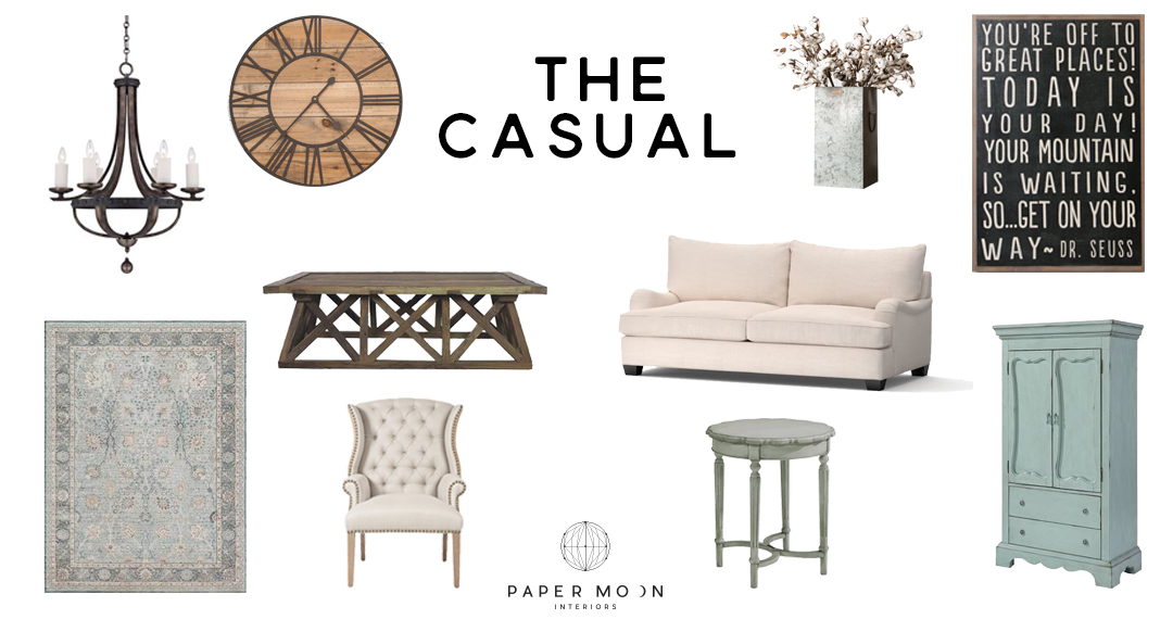 Casual Interior Design Styles