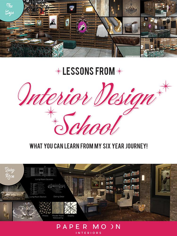Lessons from Interior Design School