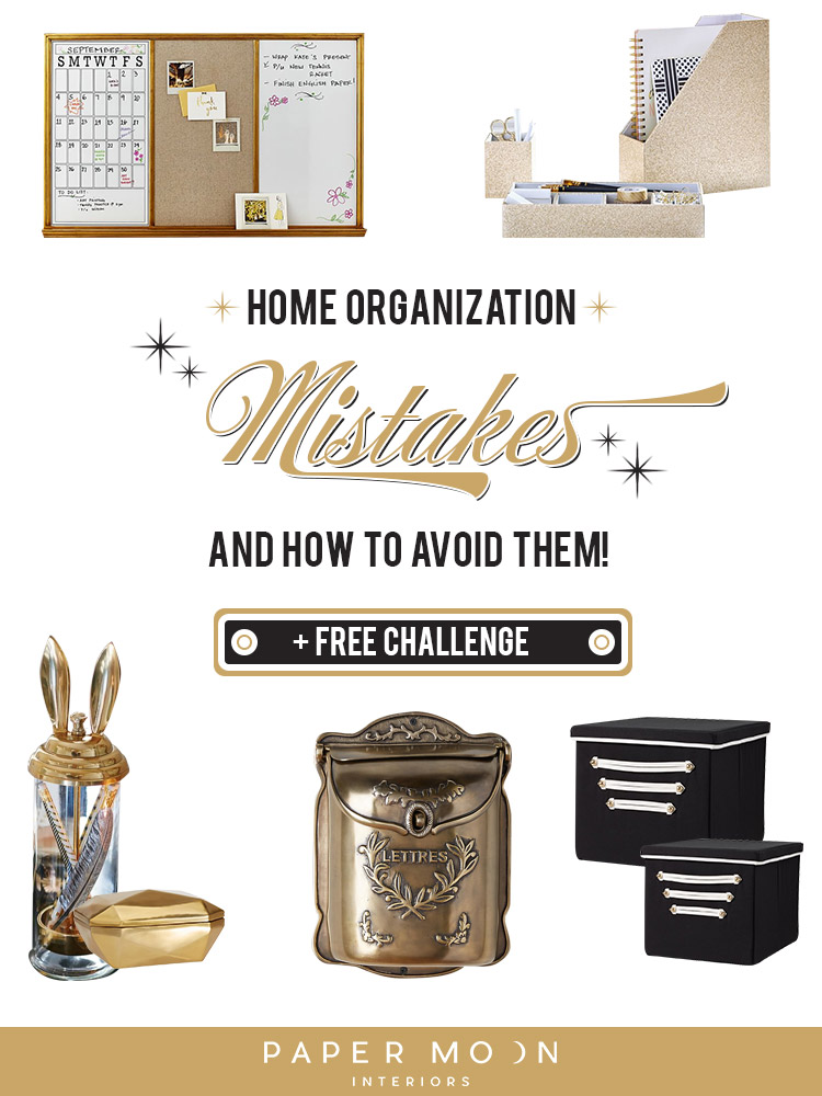 Home Organization Mistakes and How to Avoid Them