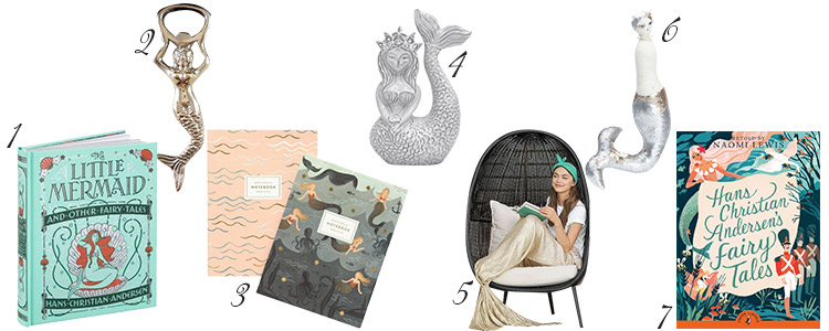 Calling all mermaids near and far! I've rounded up the best mermaid home décor ideas on the web to help you show off your love of fins, seashells, and all that iridescently glamorous!