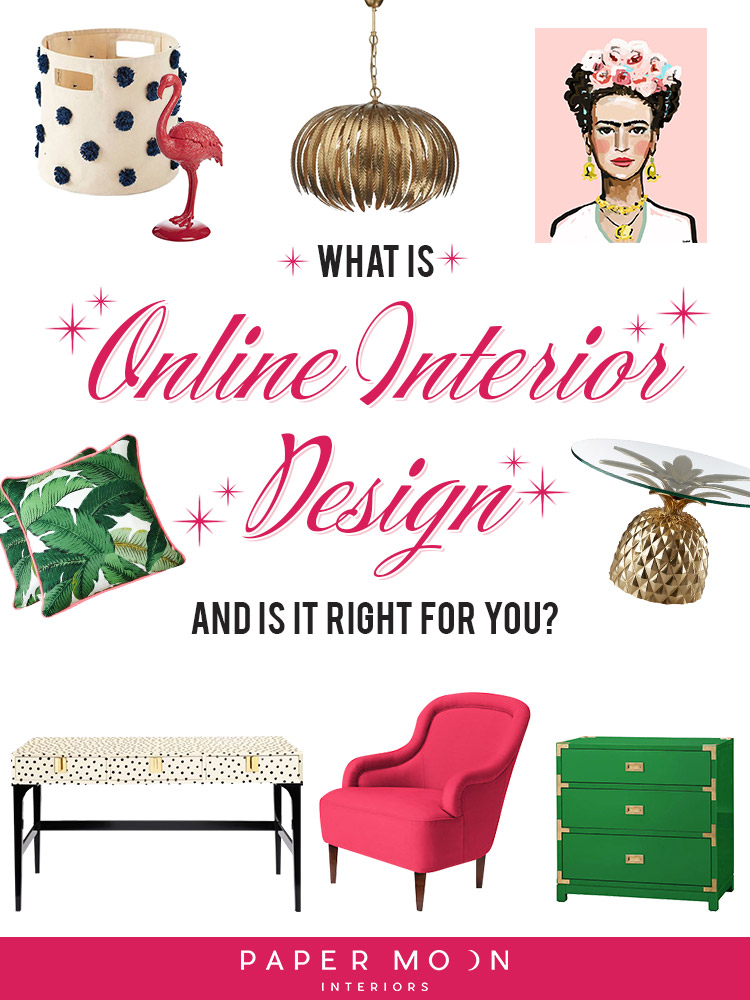 Online interior design services, virtual interiors, eDesign, you may have heard about it, but what is it? It seems to have popped up out of nowhere, but is it right for you and your design dilemmas? This week I'm lifting the veil on this new way of getting professional interior design services in a more convenient way than ever before!